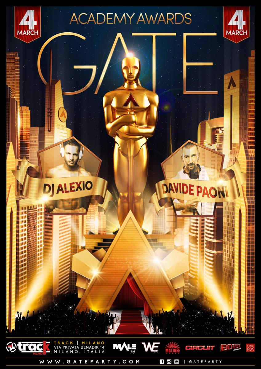 Gate Party Academy Awards