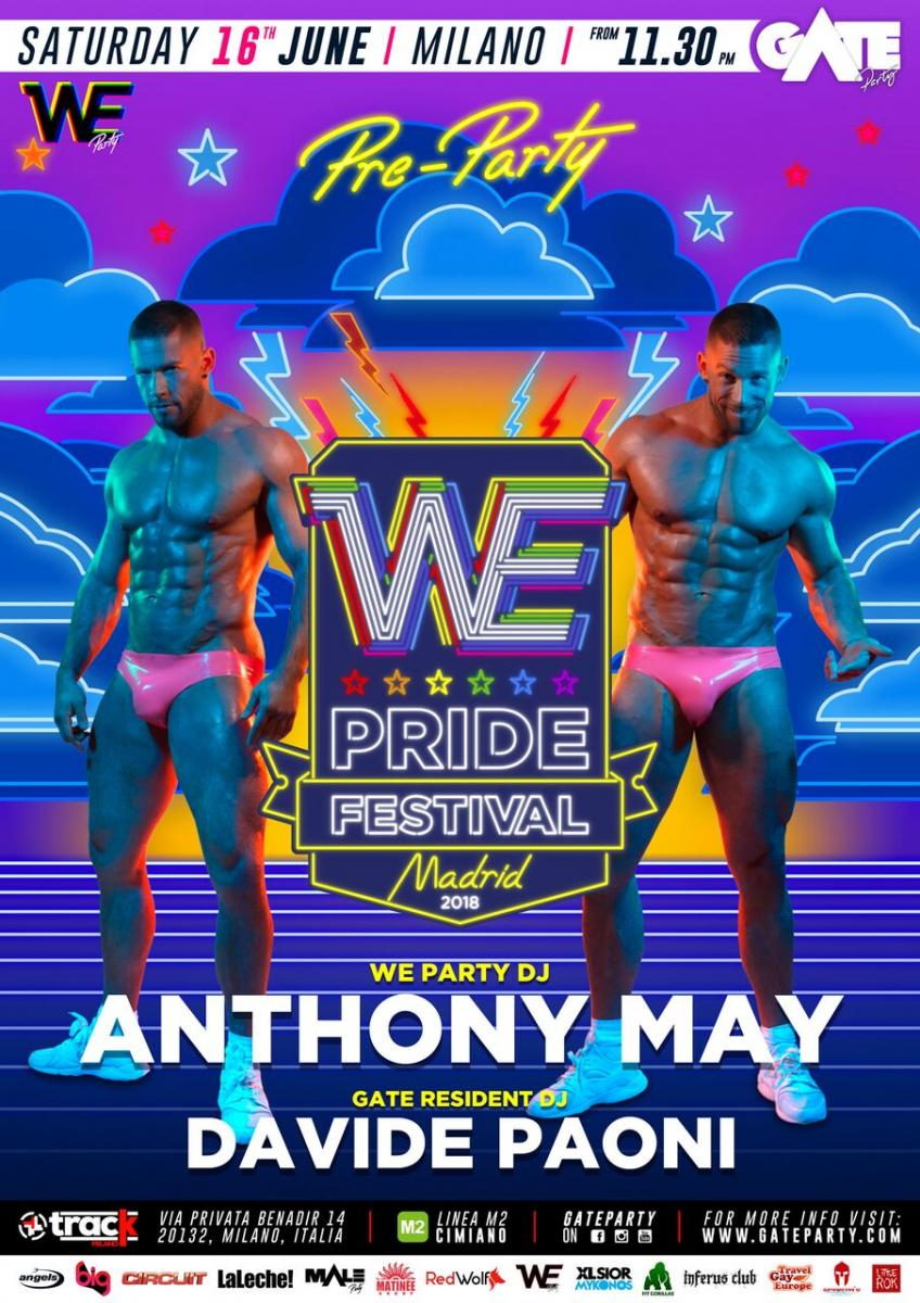 We Party Pride festival Milano